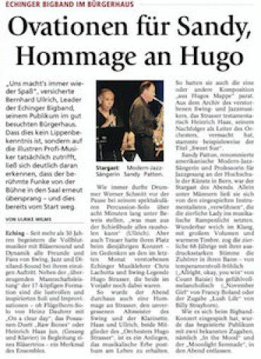 ECHING w Bernhard Ulrich Big Band